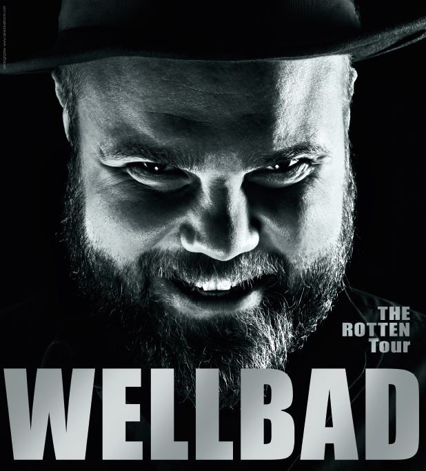 WellBad The Rotten Tour Plakat 680