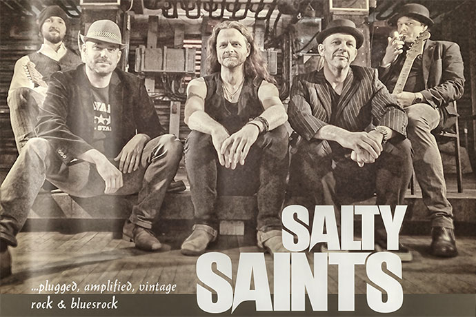 LIVE! - SALTY SAINTS & FINN COCHEROO AND THE LOFI-FEW